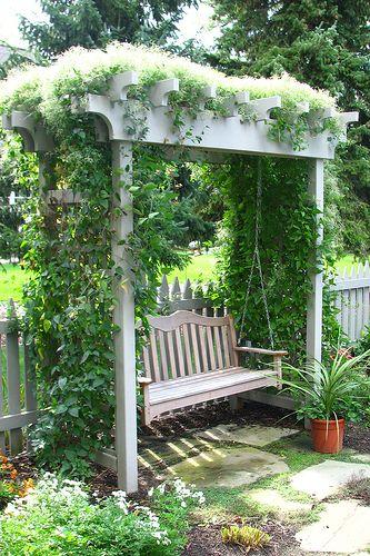 Cổng vòm đẹp trang trí vườn