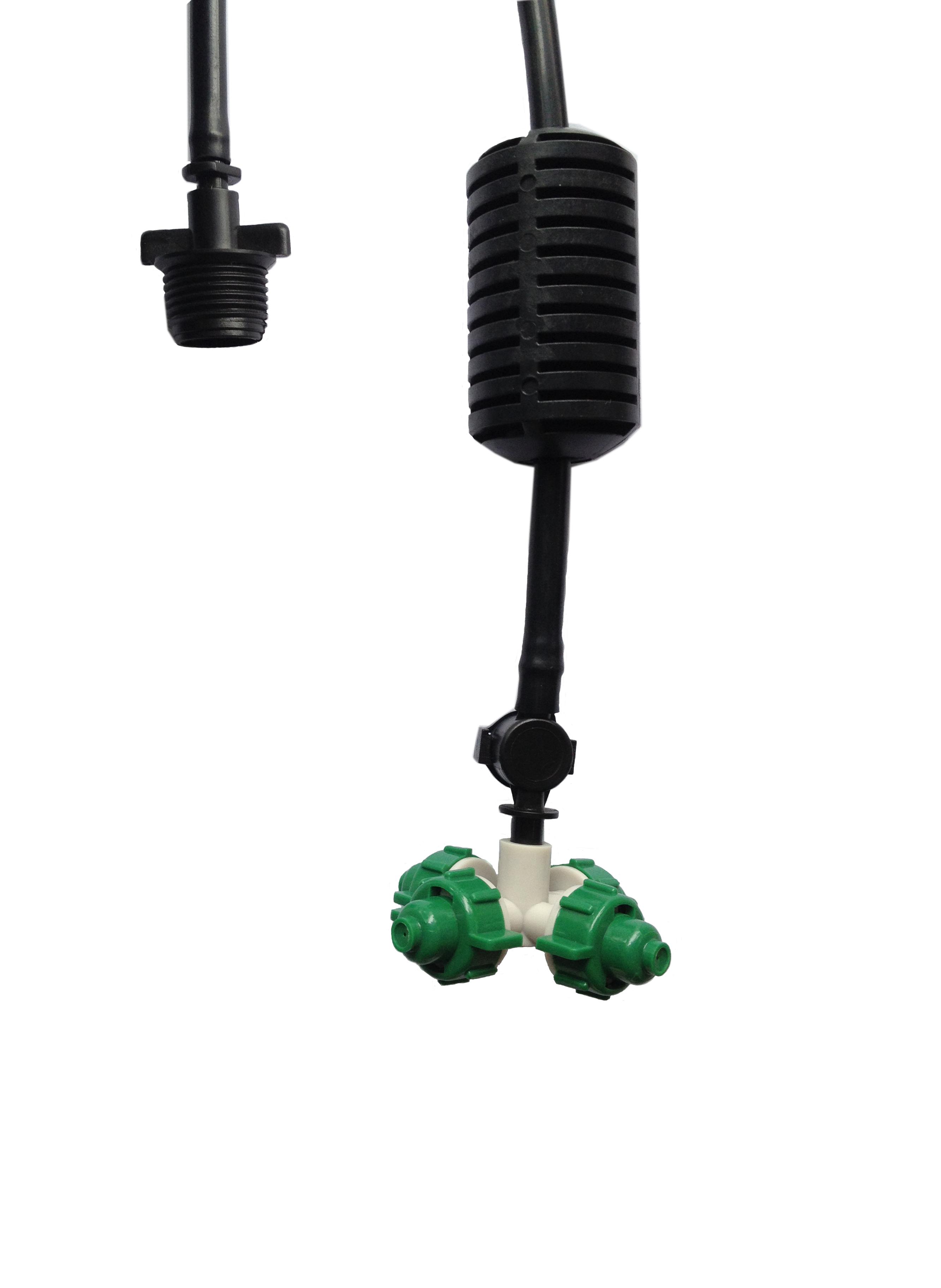 Vòi tưới phun sương 4 cửa chống rò rỉ (PVC 11)
